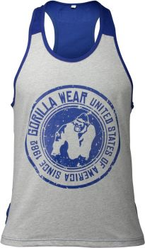 Gorilla Wear Roswell Tanktop - Blue