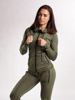 Sleek Trainingspak - Army Green