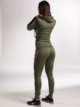 Sleek Trainingsanzug - Army Green