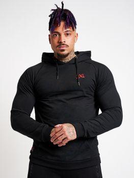 XXL Sportswear Stretch Hoodie - Black