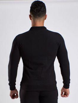 Stretch Trainingspak - Stretch Jacket Zwart
