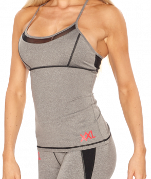 XXL Sportswear Tanktop Mesh - Grey