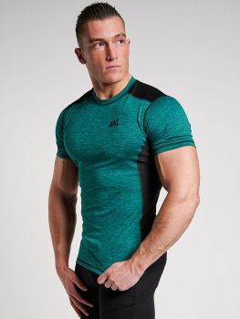 Tech Stretch Shirt Oceaan Groen