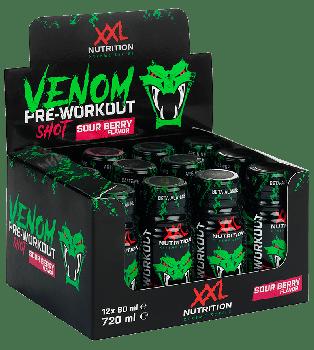 XXL Nutrition Venom Pre Workout Shot