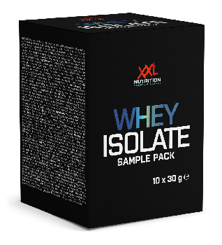 Whey Isolaat Sample Pack (10x30 gram)
