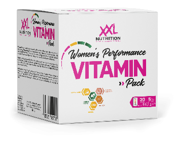 XXL Nutrition Women's Performance Vitamin Pack