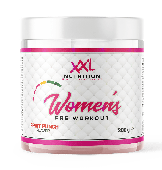 XXL Nutrition Women's Pre Workout Fruit Punch