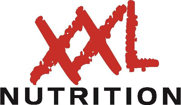 XXL Nutrition Sticker 10x15 Zwart