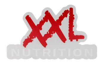 XXL Sticker 9x15cm-1 stuk-Wit