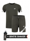 XXL Sportswear Pre-match Set - Army White
